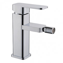 Modern Middenset Keramische ventiel Single Handle Een Hole with Chroom Bidet kraan