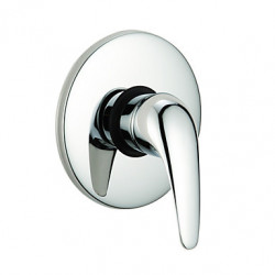 douchekraan enkele handgreep chroom wall-mount model: 0571-QL-200801e