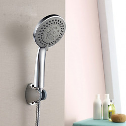 Modern Alleen douche Inclusief handdouche with Keramische ventiel Single Handle Een Hole for Chroom Douchekraan