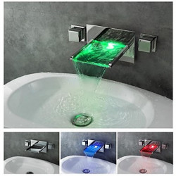 Modern - DI Messing - LED Waterval (Chroom)